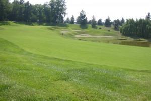 Buca 4 del Golf Club Le Robinie - Consulenza dal '93 al 95