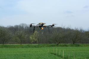 APR multirotore per agricoltura di precisione