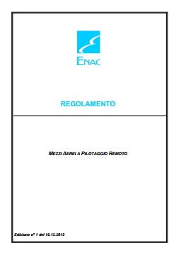 Regolamento ENAC APR
